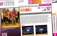 Newman Center Presents website