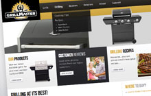 grillmaster website design