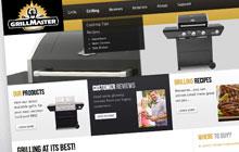 grillmaster website design