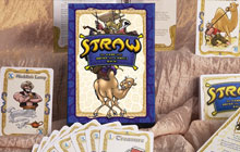 Straw Card Game Packaging